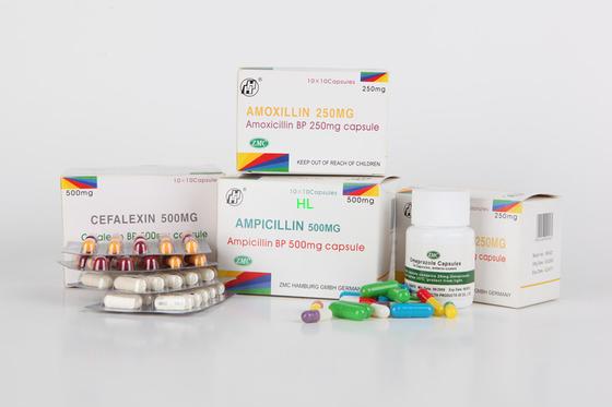 China A ampicilina encerra 250MG 500MG BP/medicinas penicilina de USP distribuidor